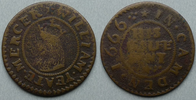 Chipping Campden, William Yeate 1666 halfpenny